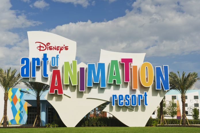 Disney's Art of Animation Resort Entrance