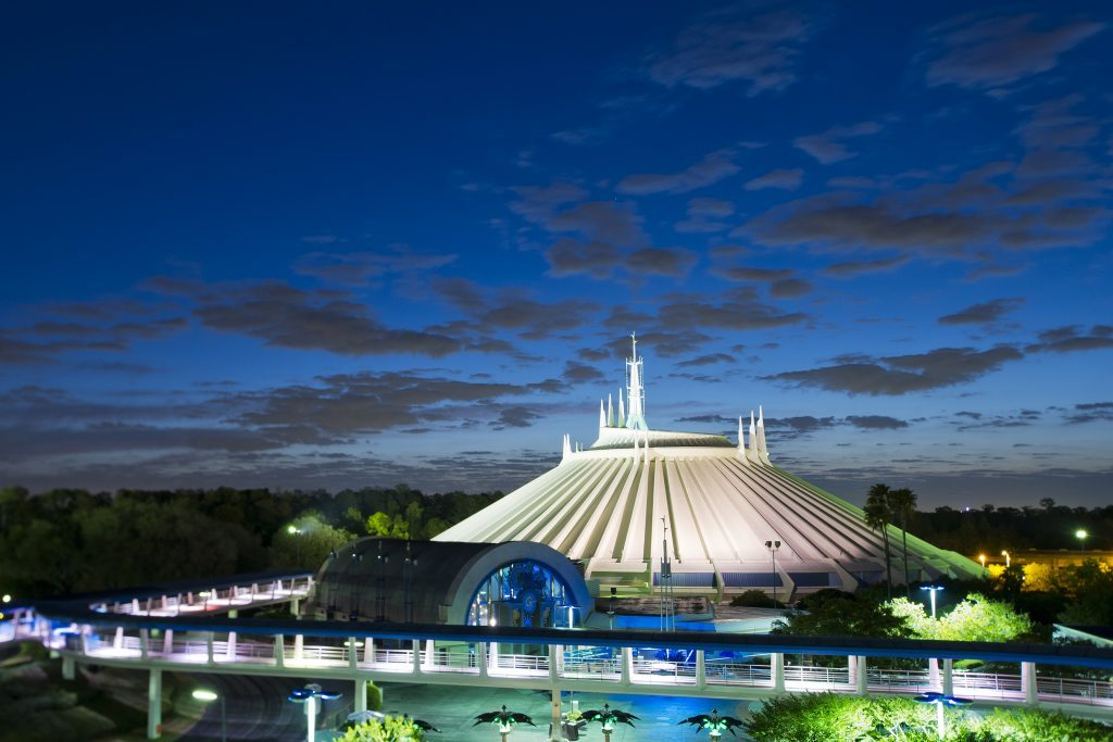Tomorrowland Magic Kingdom