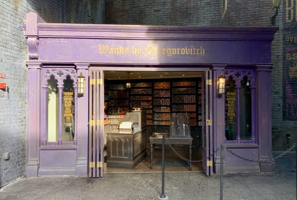 Gregorovitch Wands at Wizarding World of Harry Potter