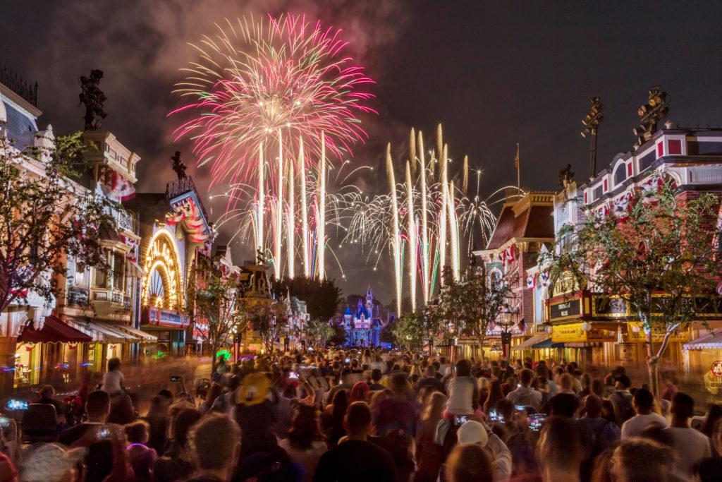 Disneyland Forever Fireworks at Disneyland