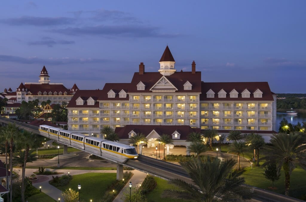 Disney's Grand Floridian Resort & Spa Reopens With Monorail Service