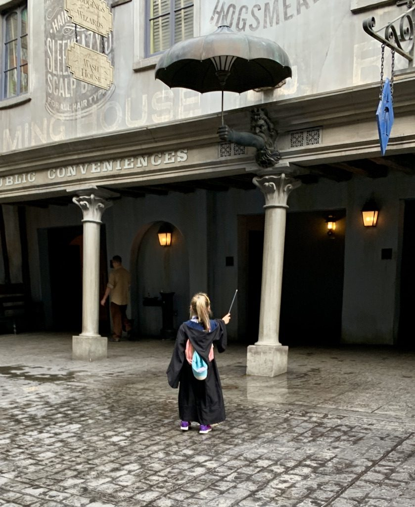 Spell Casting at Wizarding World of Harry Potter