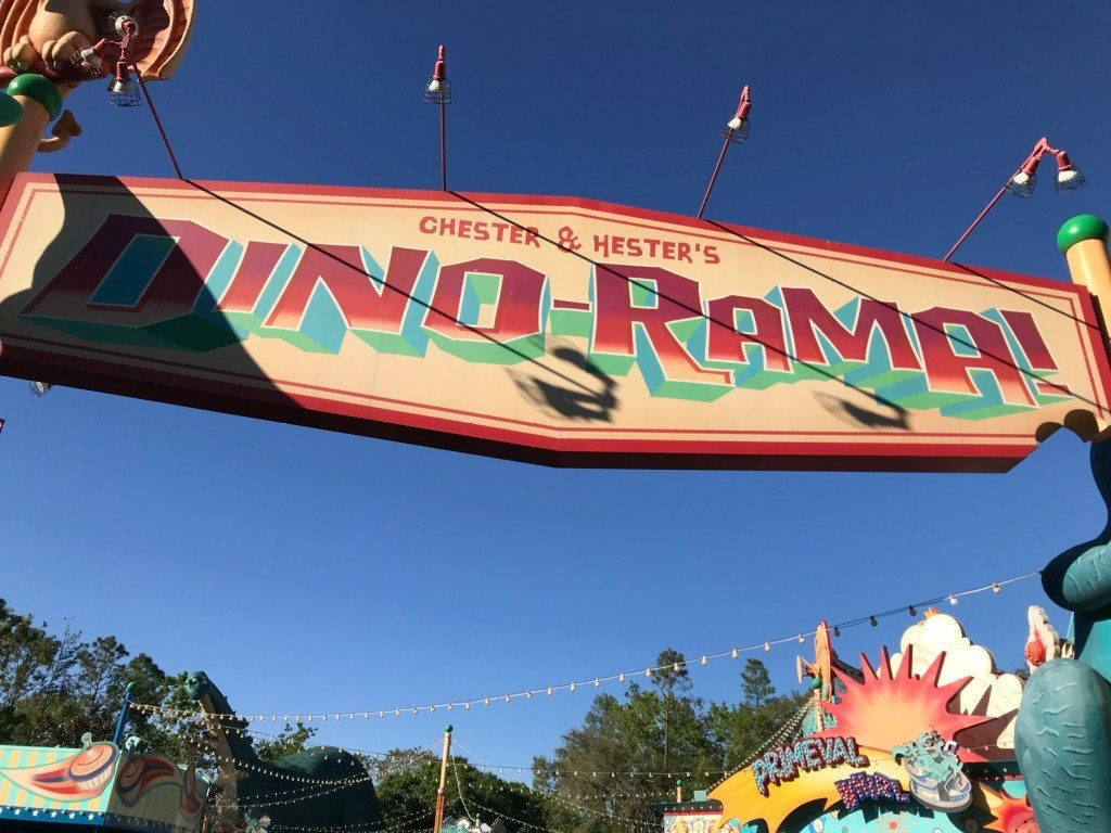 Dino-Rama at Disney's Animal Kingdom