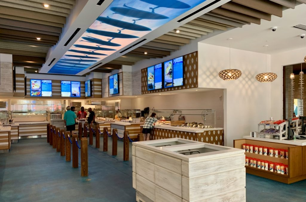 Beach Break Cafe at Universal's Endless Summer Resort - Surfside Inn and Suites