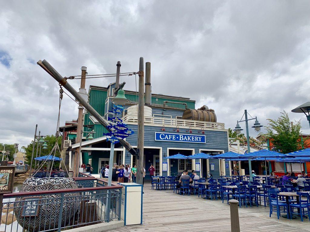 Pacific Wharf Disney California Adventure