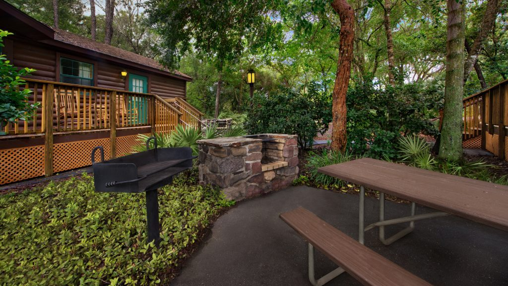 Cabins at Disney's Fort Wilderness