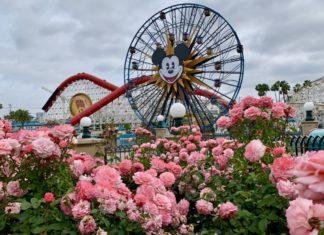Pixar Pier in Disney California Adventure