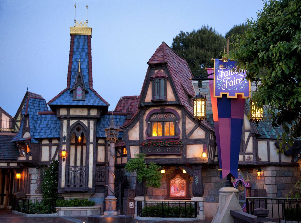 Fantasy Faire Disneyland