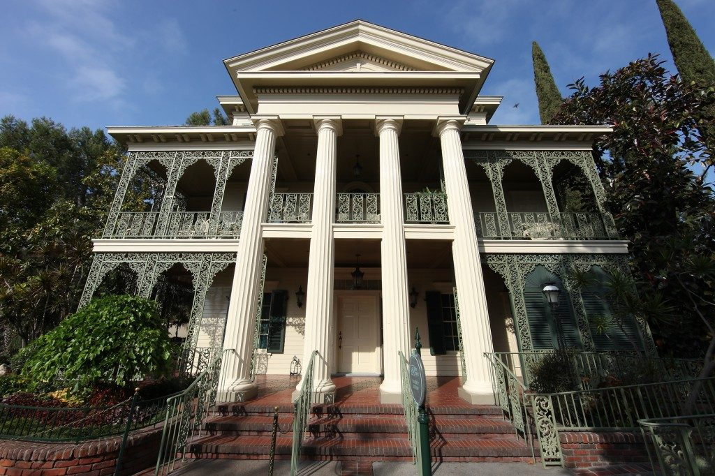 The Haunted Mansion in Disneyland