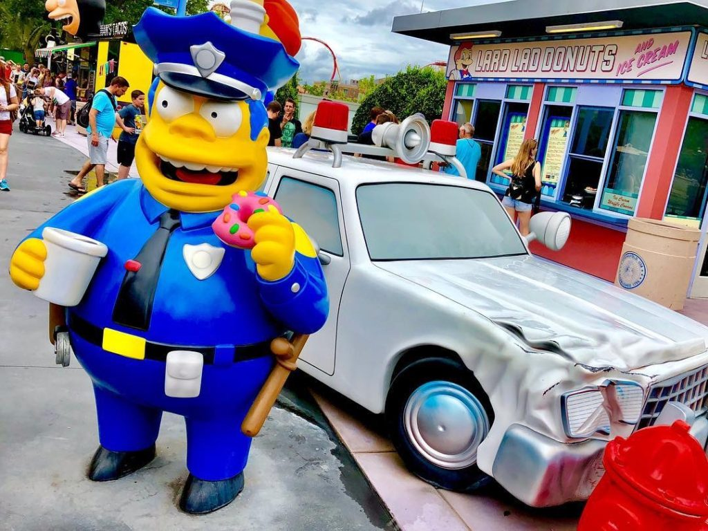Springfield at Universal Studios Florida
