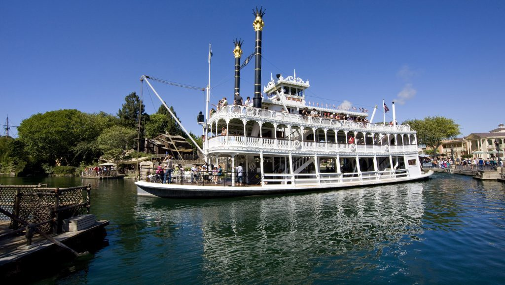 Mark Twain Riverboat in Disneyland