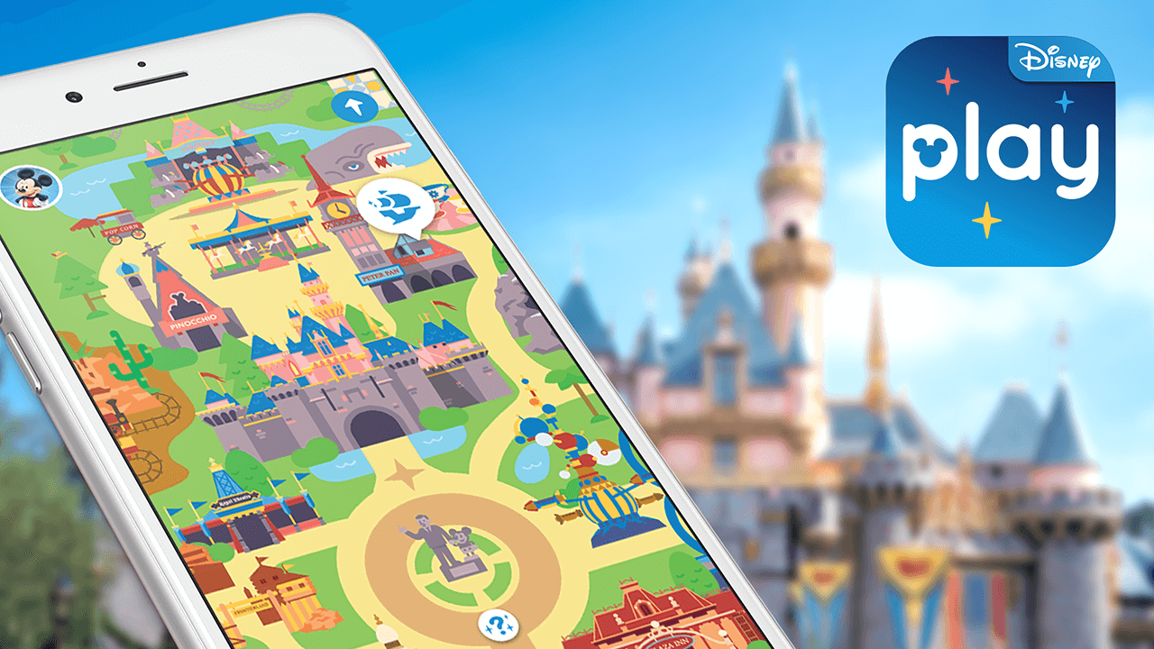 How to Use The Play Disney Parks App In The Parks