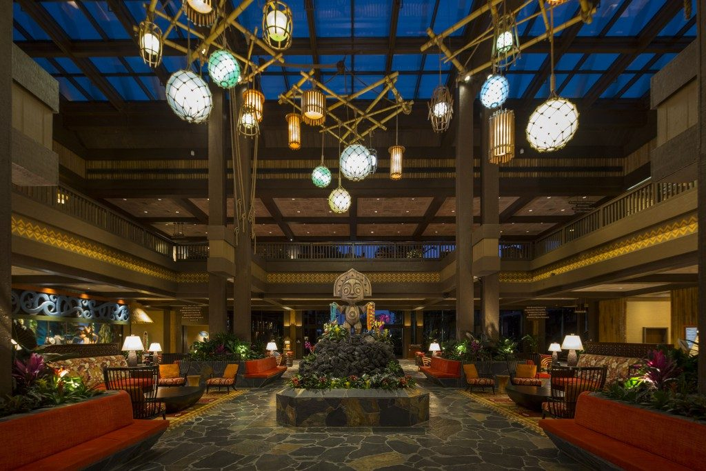 Disney's Polynesian Village Resort Lobby