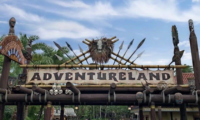 Adventureland Magic Kingdom