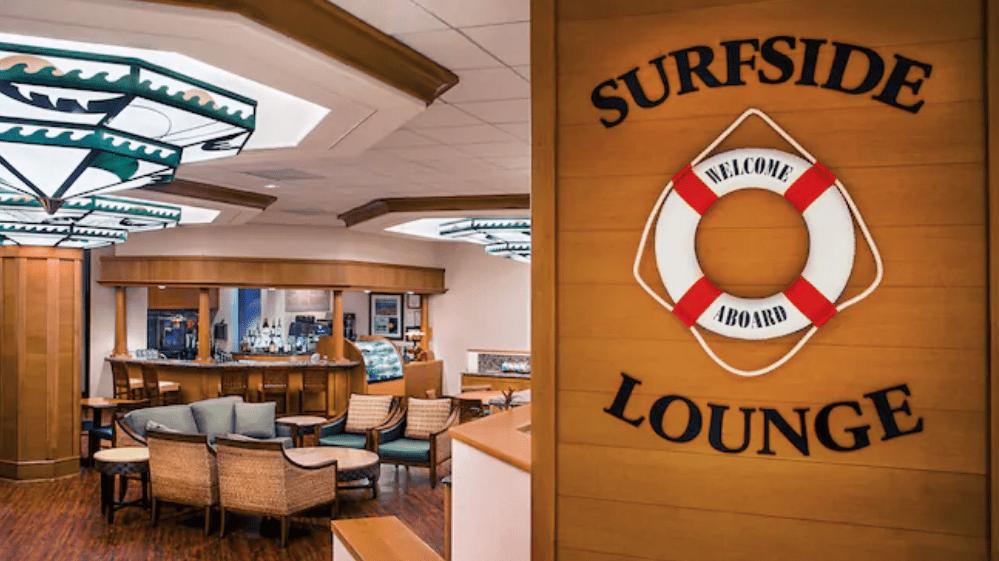 Disney's Paradise Pier Resort Surfside Lounge