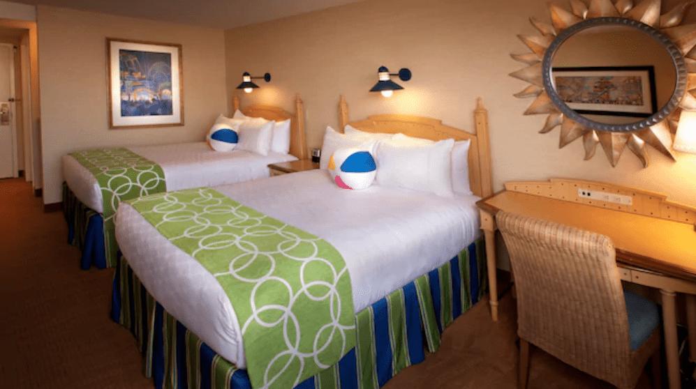Disney's Paradise Pier Resort standard room