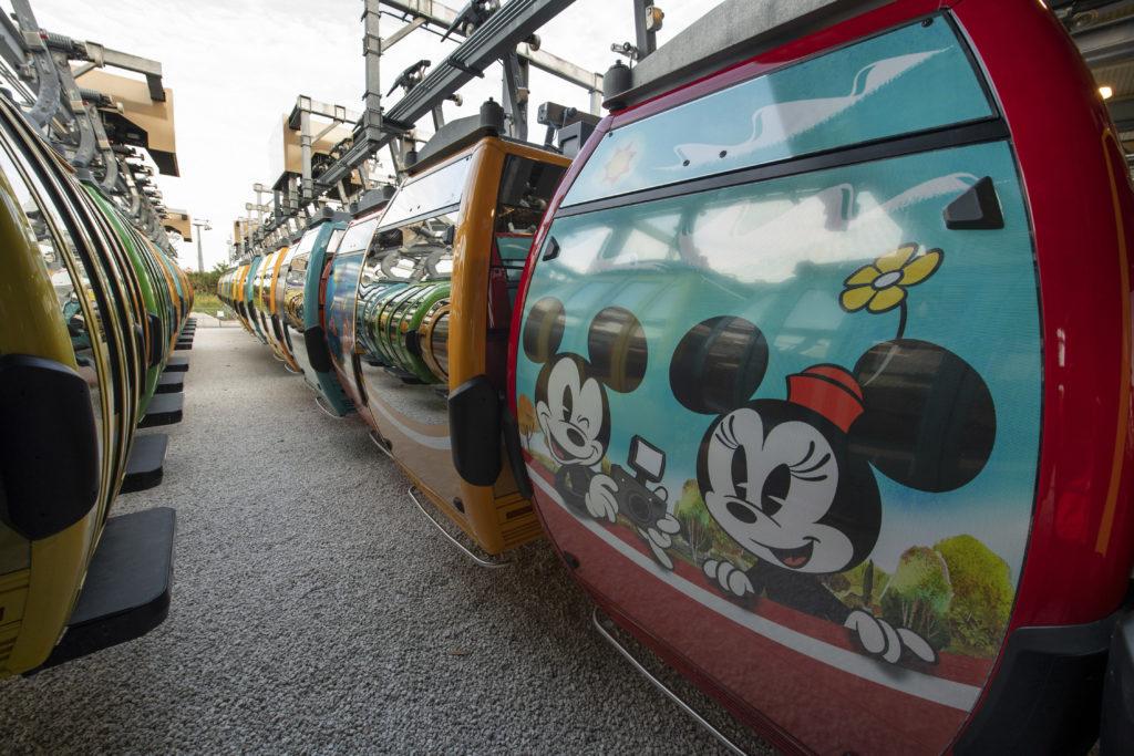 Gondolas for Disney Skyliner