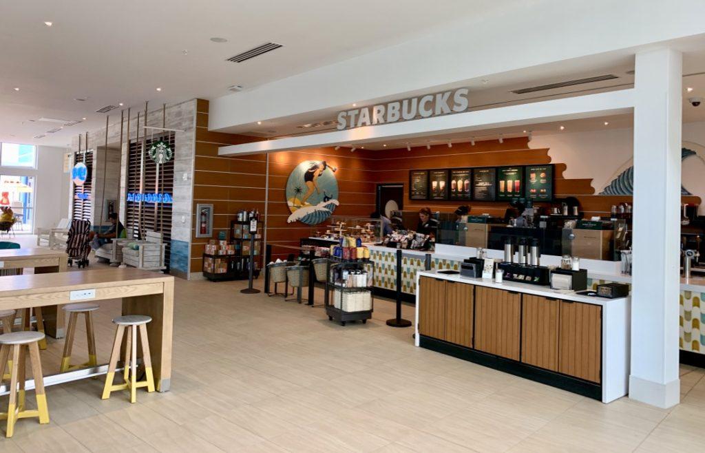 Universal's Endless Summer Resort - Surfside Inn and Suites Starbucks