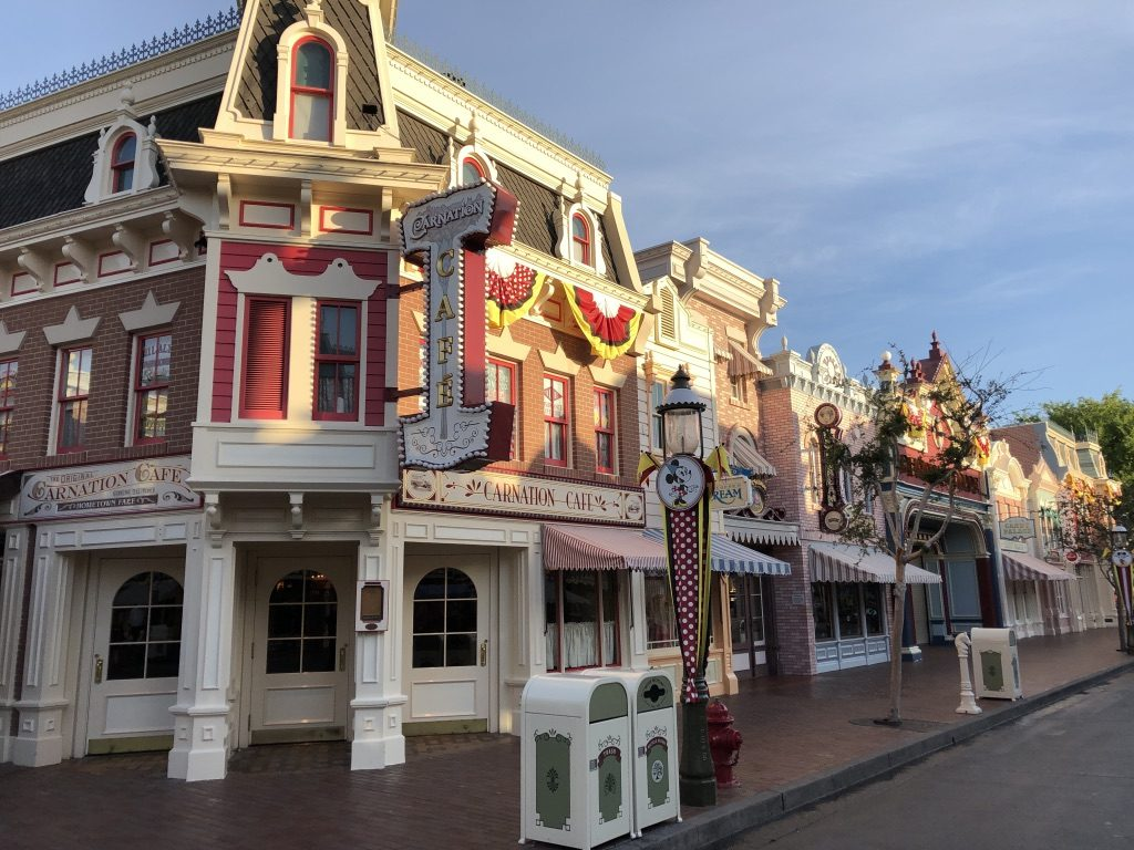 Main Street U.S.A. at Disneyland