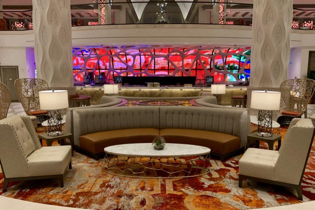 Gran Destino Tower Lower Lobby and Bar