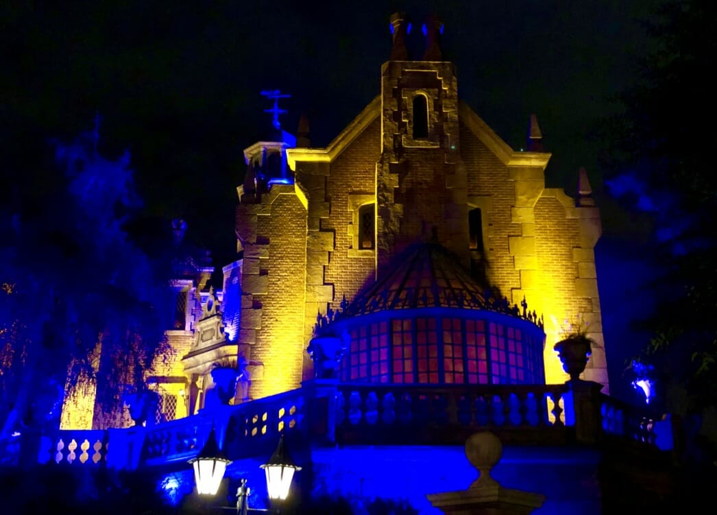 The Haunted Mansion at Walt Disney World's Magic Kingdom