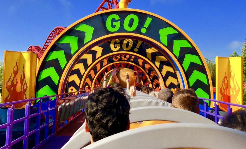 Slinky Dog Dash Disney's Hollywood Studios