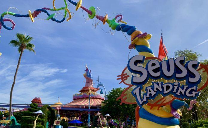 Suess Landing at Universal's Islands of Adventure