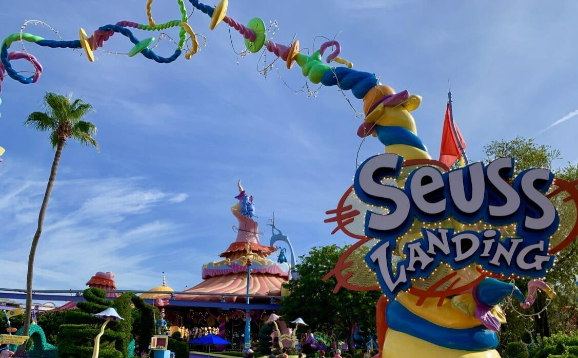 Universal Orlando S Seuss Landing 101 Theme Park Professor