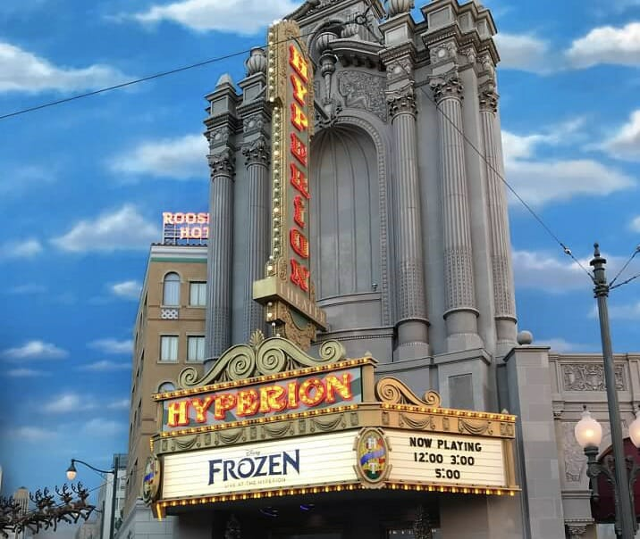 Hyperion Theater in Hollywoodland Disney California Adventure