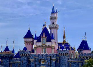 Sleeping Beauty Castle at Disneyland