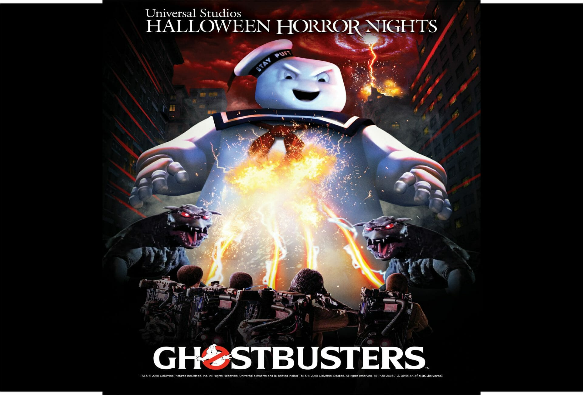 """Universal Studios welcomes GHOSTBUSTERS for the first time ever to """"HALLOWEEN HORROR NIGHTS"""""""