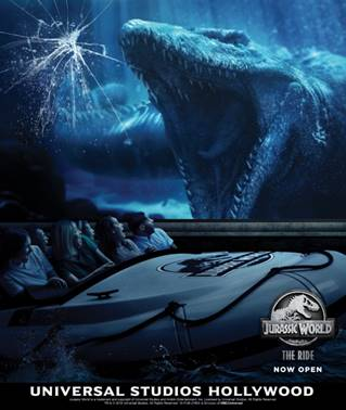 Jurassic World: The Ride Opens at Universal Studios Hollywood