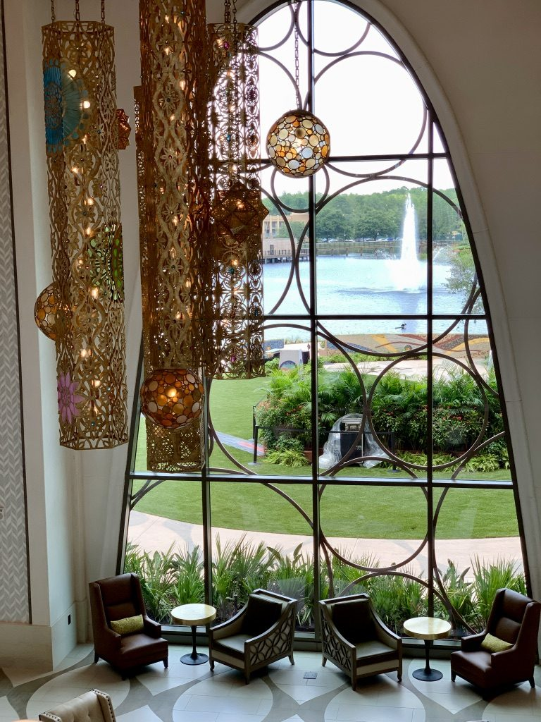 Gran Destino Tower Lobby Window