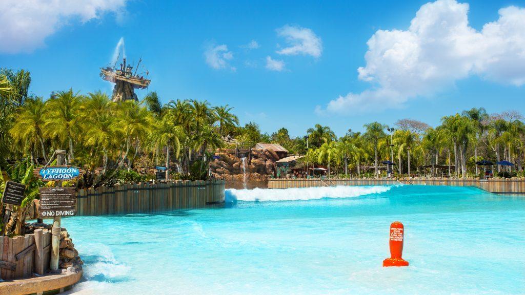 Disney's Typhoon Lagoon Wave Pool