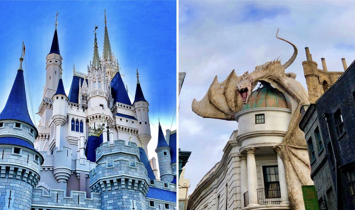 Walt Disney World and Universal Face Covering Policies