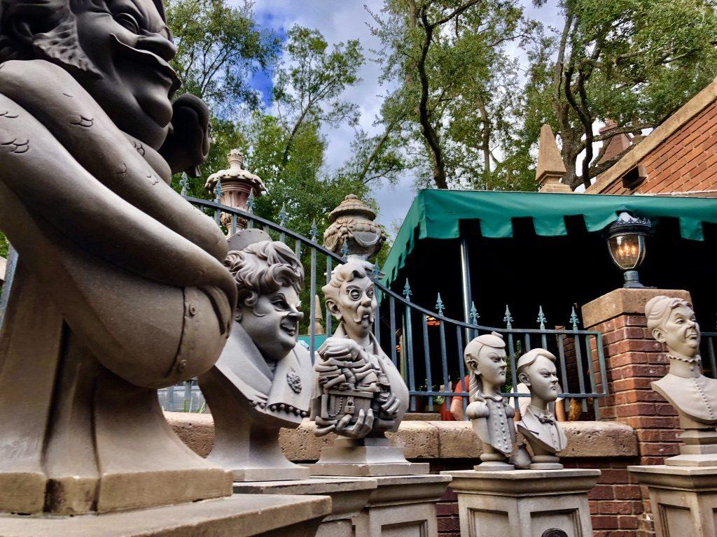 Haunted Mansion Entrance Walt Disney World