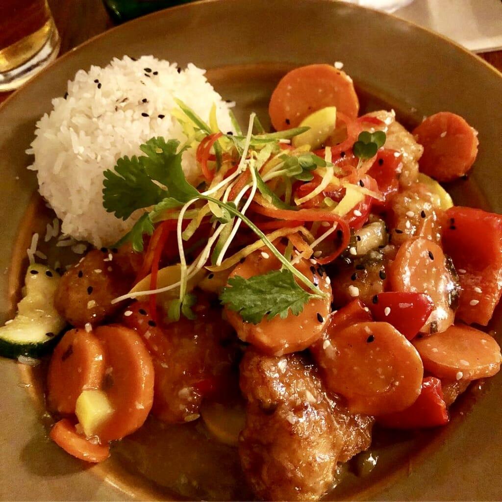 Honey Chicken at Yak & Yeti