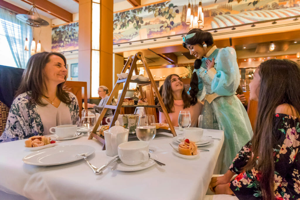 Disney Princess Breakfast Adventures at Napa Rose Review