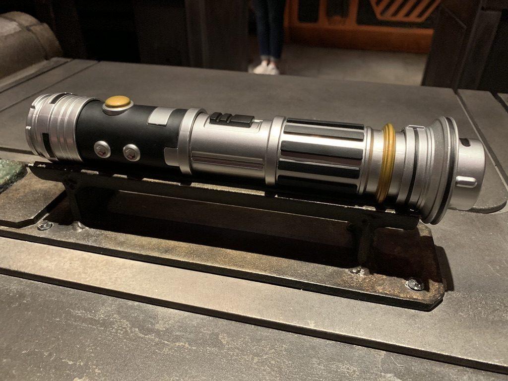 Savi's Workshop Lightsaber at Star Wars: Galaxy's Edge