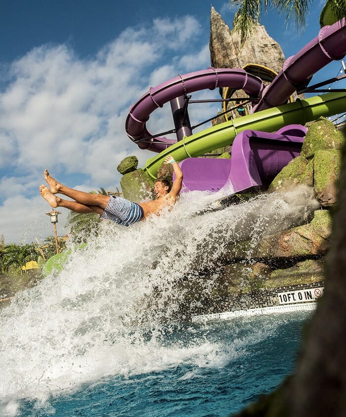 Ohno Waterslide at Universal's Volcano Bay