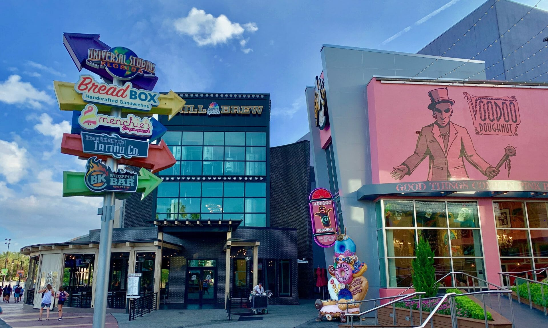 Dining at Universal Orlando's CityWalk