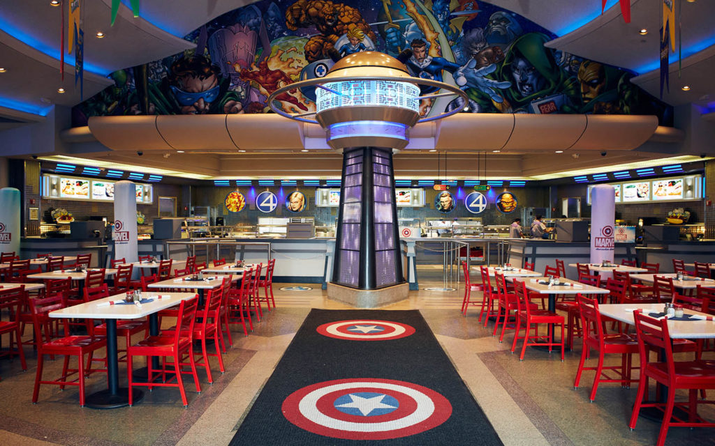 Marvel Character Dinner