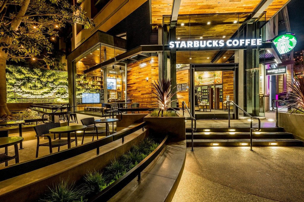 Starbucks Downtown Disney