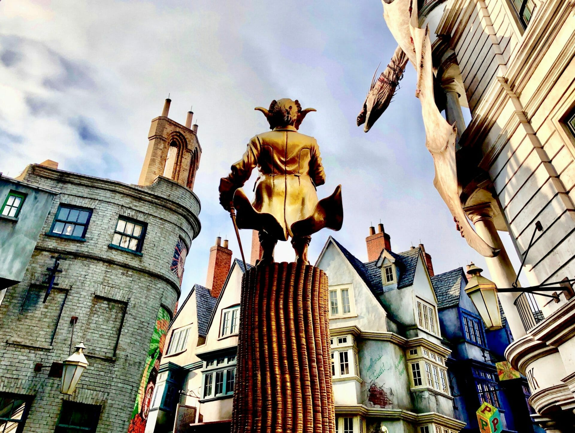Wizarding World Of Harry Potter Diagon Alley 101 Theme Park
