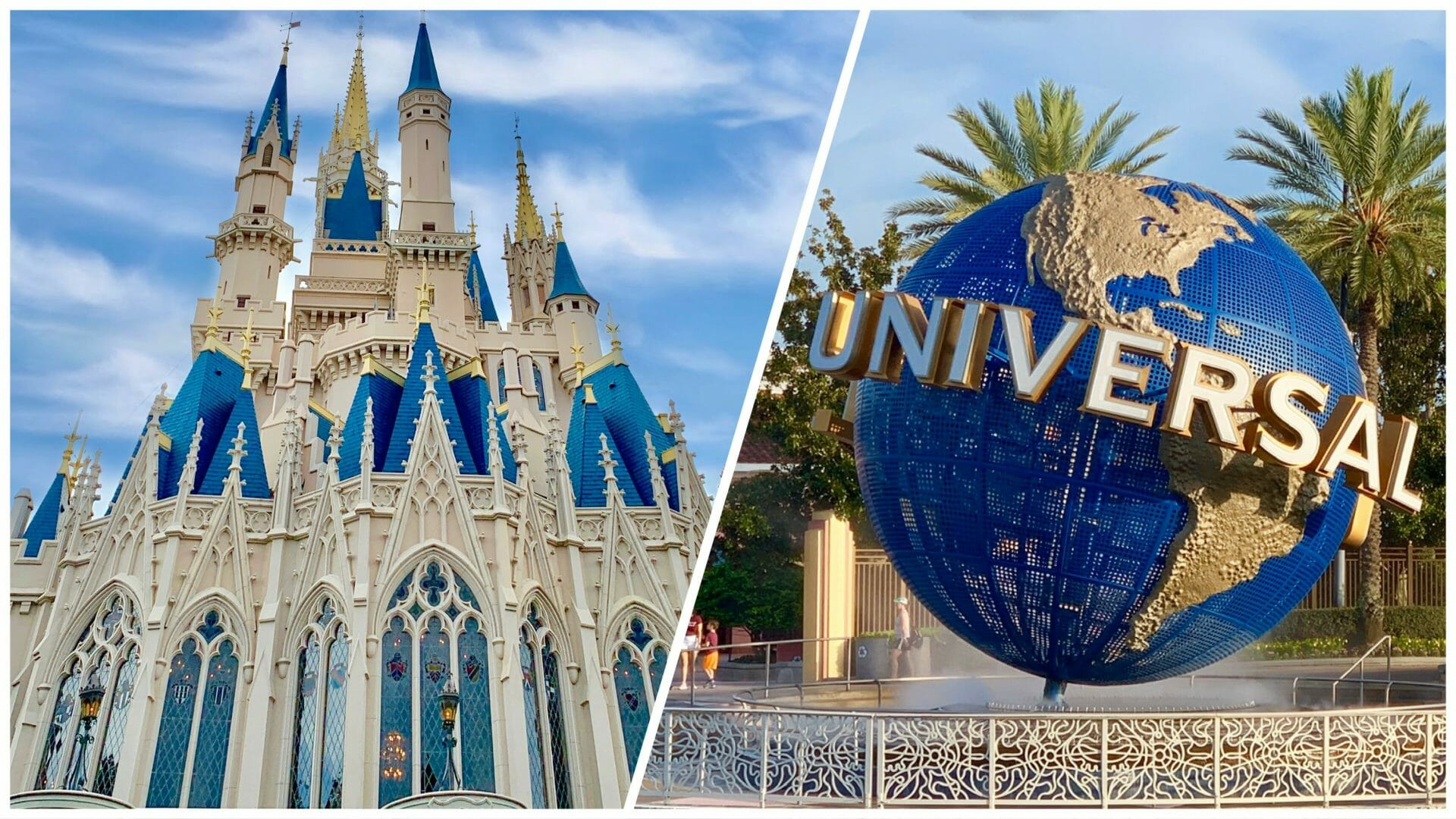 Getting from Disney World to Universal