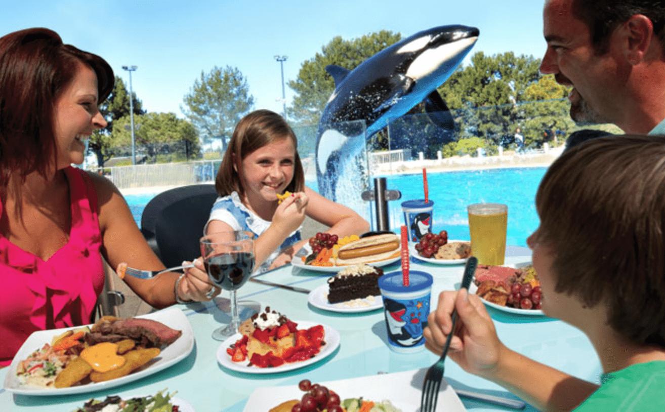 SeaWorld Orlando and Busch Gardens Tampa Bay New All-Season Dining Pass