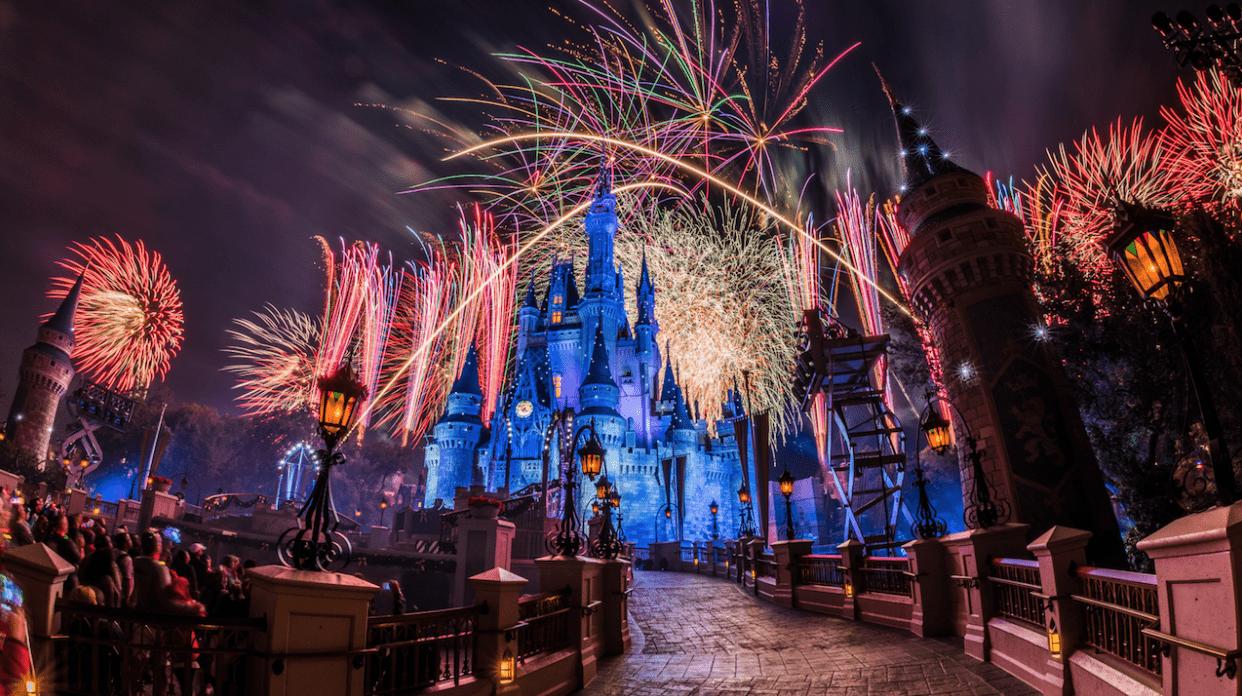 Spend New Years Eve at Walt Disney World