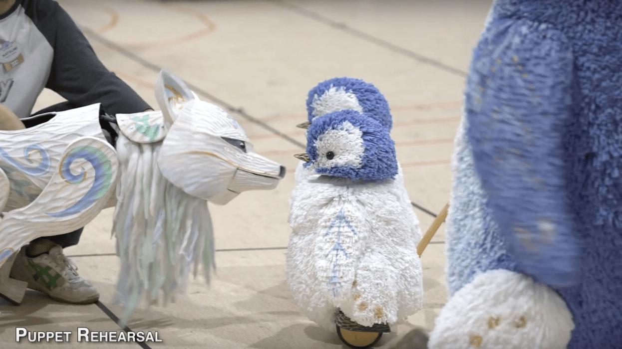 Sneak Peek of the Merry Menagerie at Disney's Animal Kingdom