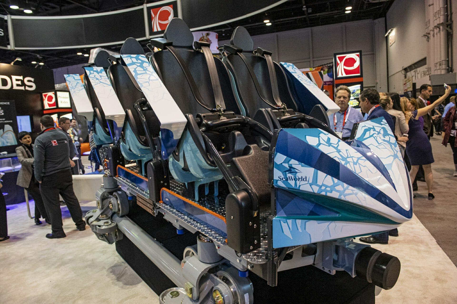 SeaWorld Orlando Unveils Ride Car for Ice Breaker