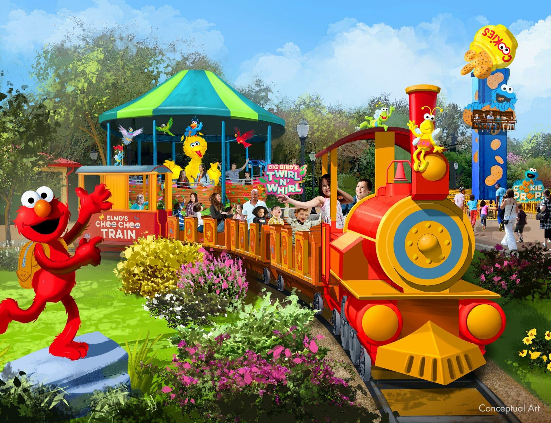 Sesame Street is Turning 50 at SeaWorld Orlando